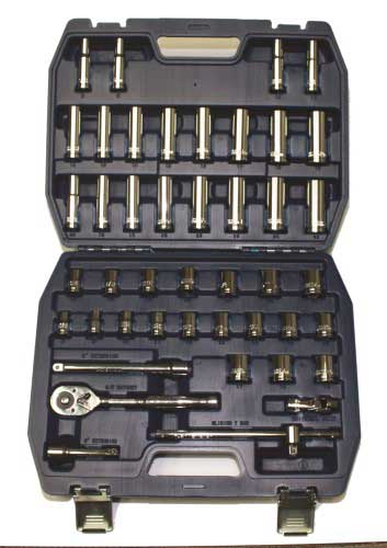 "3/8"" Drive SAE & Metric Socket Set"