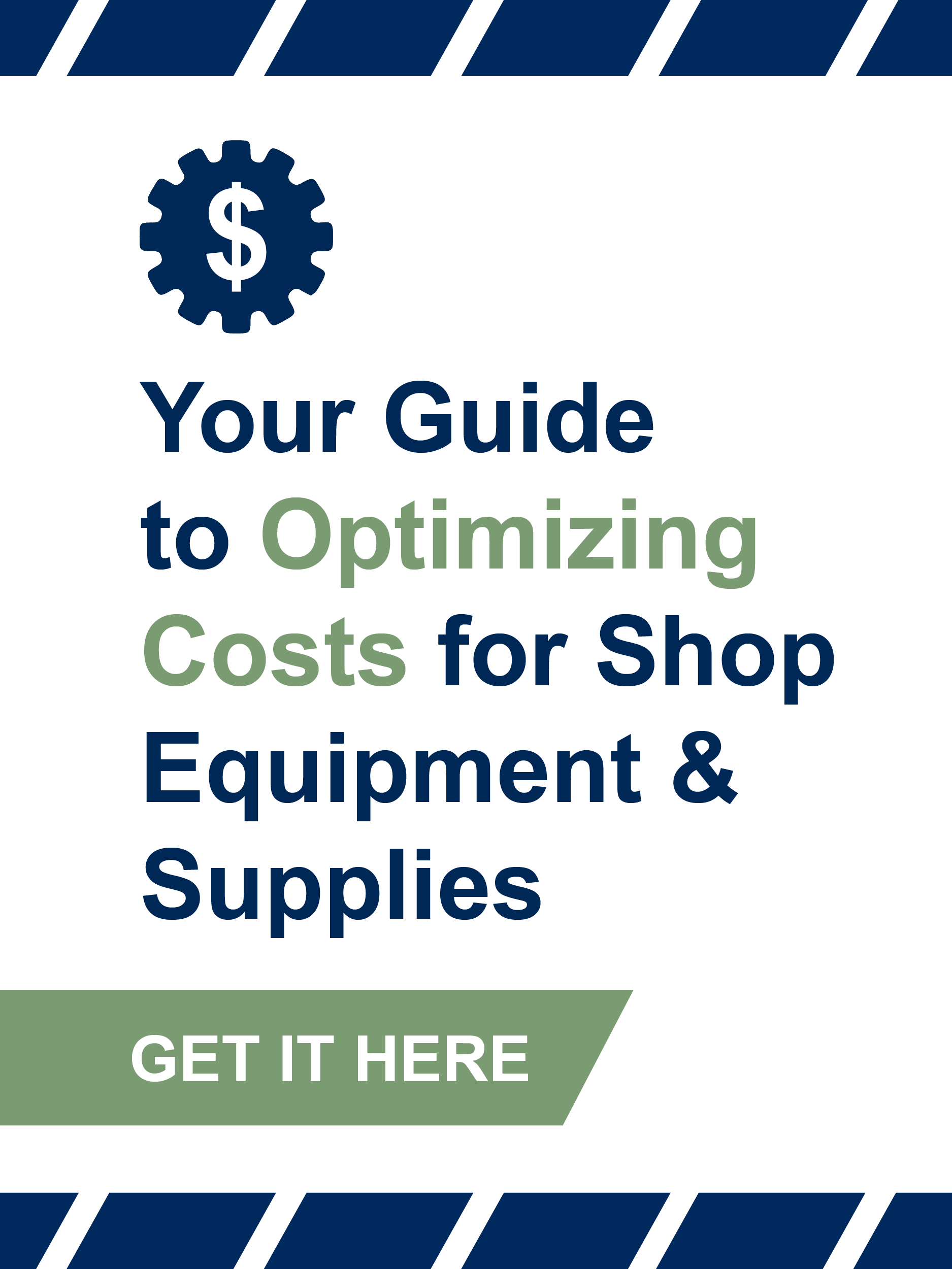 optimizing cost shop supplies