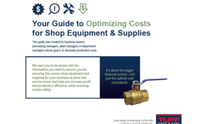 Guide to Optimizing Costs for Shop Equipment & Supplies Announced by IDI Independent Distributors Inc.
