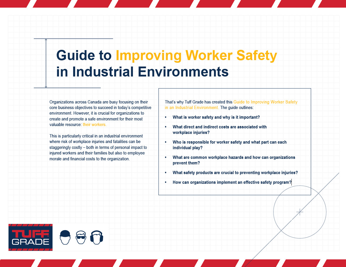 industrial worker safety guide tuff grade